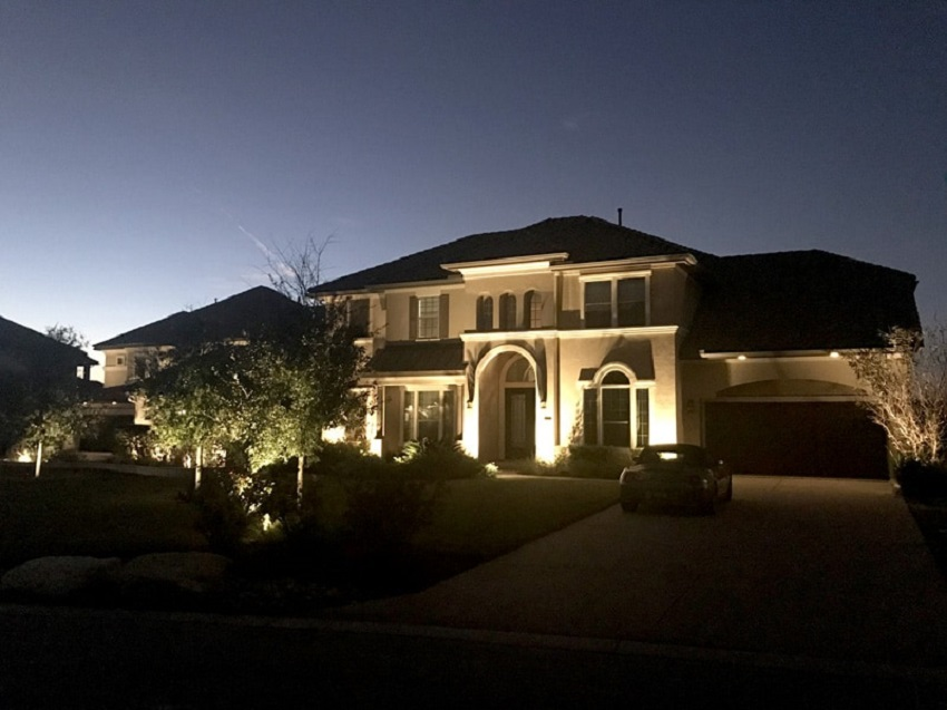 What colors are better for outdoor lighting and why?